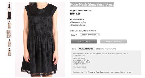 Rose Mesh Sleeveless Dress