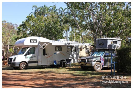 Managed Camping Area & Bush Camping Areas