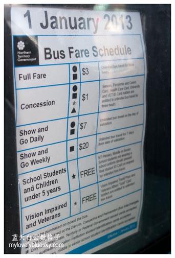 澳大利亚北领地公共巴士和当地旅游团配套篇