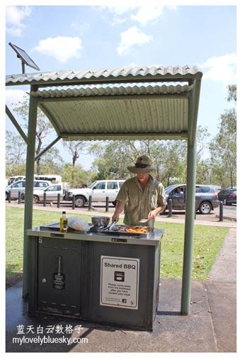 Litchfield National Park : Public BBQ