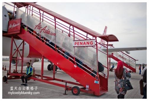 Air Asia : QZ 8310 & 8311 PEN CGK