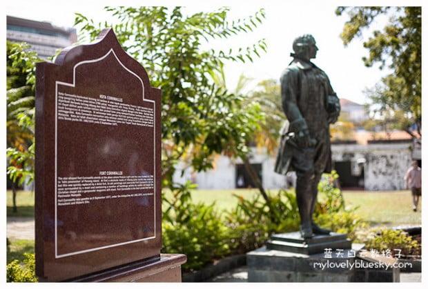 槟城旅游:康华利斯堡 Fort Cornwallis
