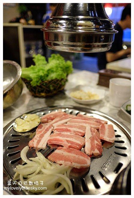 五花肉烧烤