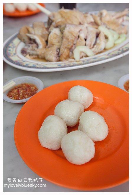 马六甲美食: 中华茶室(海南鸡饭)