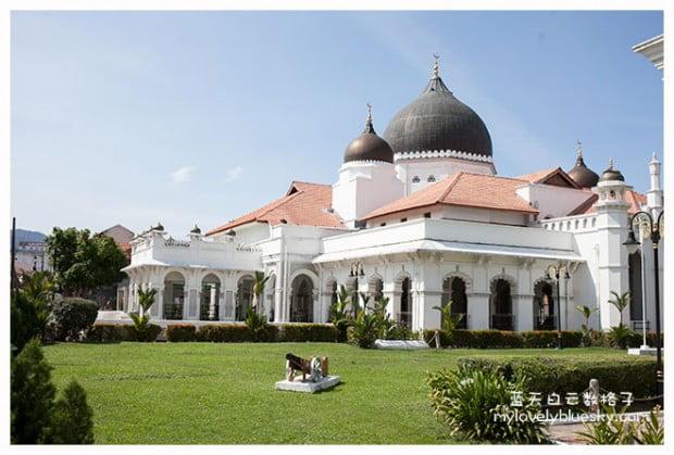 槟城旅游:甲必丹吉宁清真寺 Masjid Kapitan Keling