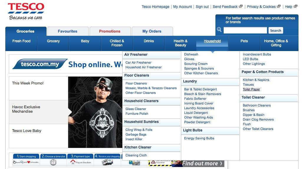 Tesco.com.my Shop Online. We Deliver