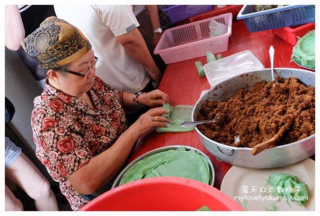 马六甲美食: Baba & Charlie Nyonya Cake