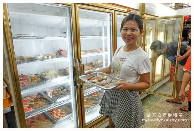 马六甲美食:万里香沙爹朱律茶餐室