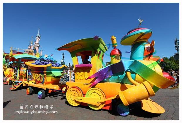 迪斯尼20周年庆火车(Le Train Disney du 20ème Anniversaire)