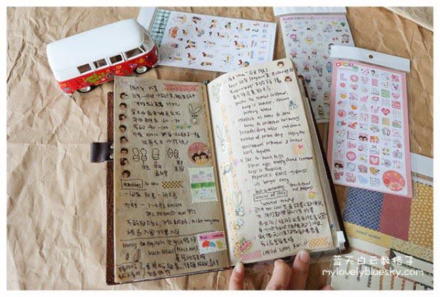 离不开手账 Midori Traveler's Notebook