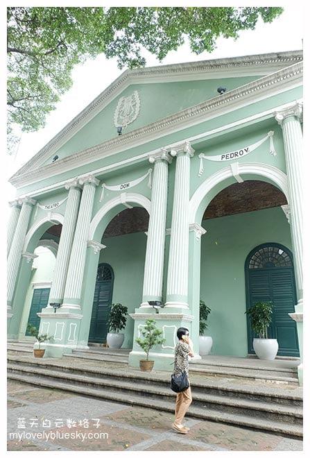 中国最古老的欧式剧院,1860年建成,至今仍用作演出场地。