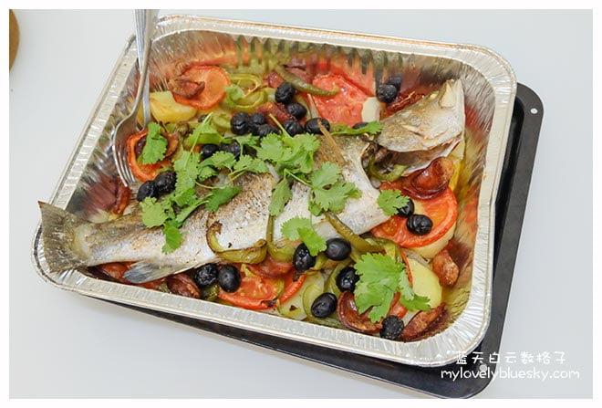 澳门美食烹饪班:葡式烧鱼