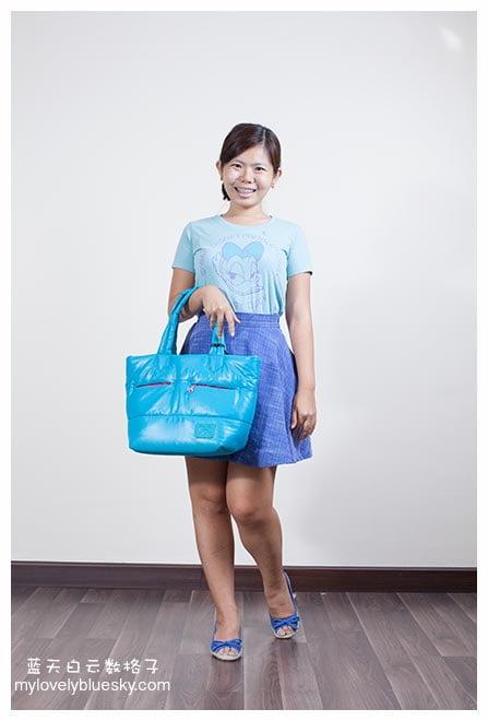 Face-Bag 蓝绿