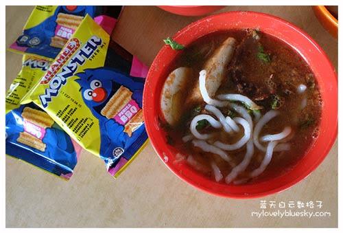 霹雳班台美食:阿琴海鲜咖喱面