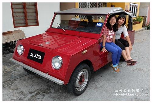 邦咯岛最古老的车子?
