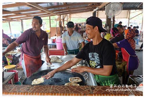 霹雳实兆远美食: Kampung Sitiawan Roti Canai