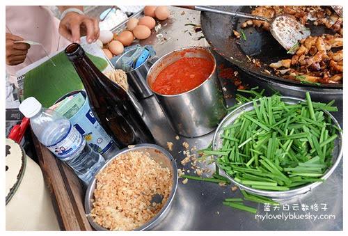 槟城美食:汕头街木炭炒粿角