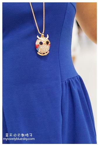 The Little Blue Dress