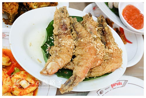 印尼雅加达 Jakarta美食: Restoran Garuda