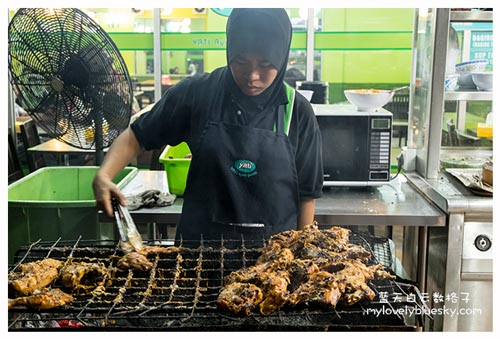 吉兰丹美食: Yati Ayam Percik