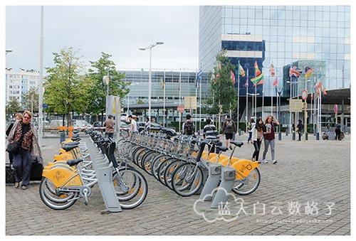 比利时布鲁塞尔旅游: Bruxelles-Midi 布鲁塞尔迷笛火车站