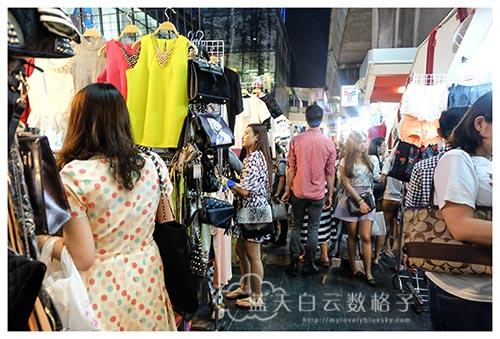 泰国曼谷购物:暹罗夜市 Siam Night Market