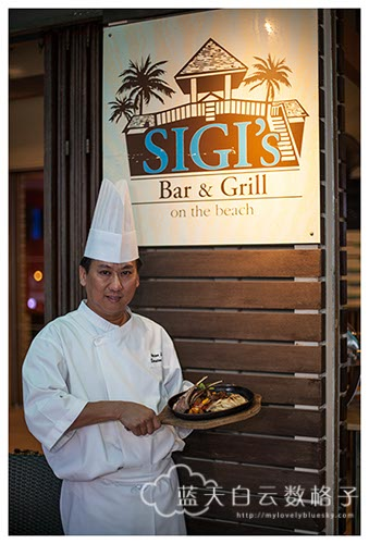 Golden Sands Resort Penang : Celebrates 35 Years with Anniversary Menu Dinner at Sigi's Bar & Grill On The Beach