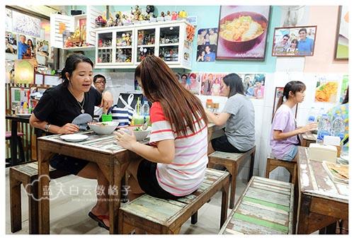 泰国曼谷美食:P'AOR 龙虾冬炎面