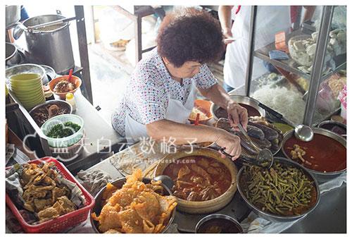 吉隆坡美食:中华巷咖喱面