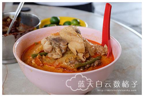 吉隆坡美食:李霖泰菜市场和中华巷咖喱面