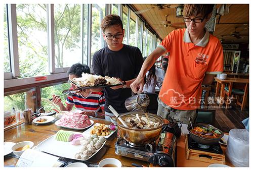 台中新社美食:菇神观景复合式餐饮