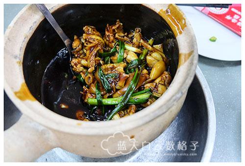 新加坡美食:G7新马砂煲活田鸡粥