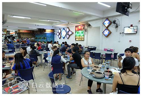 新加坡美食:G7新马活海鲜田鸡粥