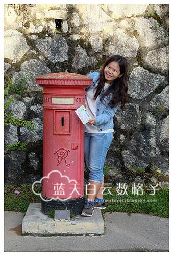 马来西亚旅游:马来西亚古老的邮筒