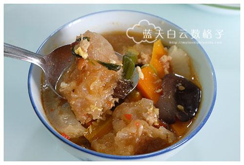 福州鱼鳔海参汤