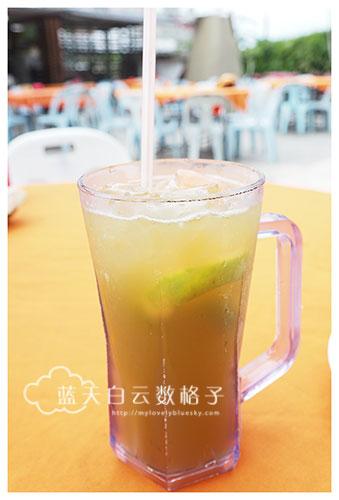 砂拉越古晋美食:猫眼嶺海鲜 @ Top Spot Food Court