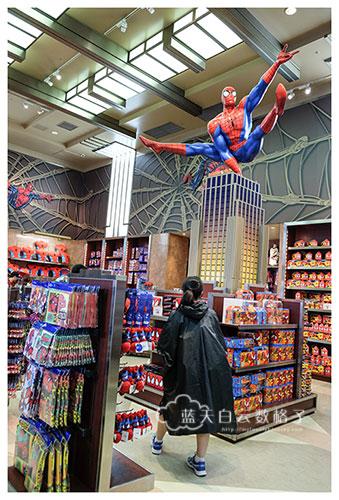 第2个不可错过的游乐设施:蜘蛛侠惊魂历险记- 乘车游