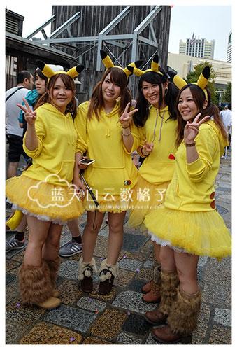 捉不到鬼,也可以在日本环球影城捉到比卡丘精灵!