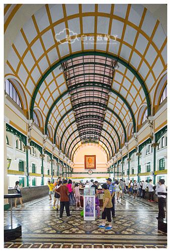 Bưu điện trung tâm Sài Gòn/郵電中心柴棍