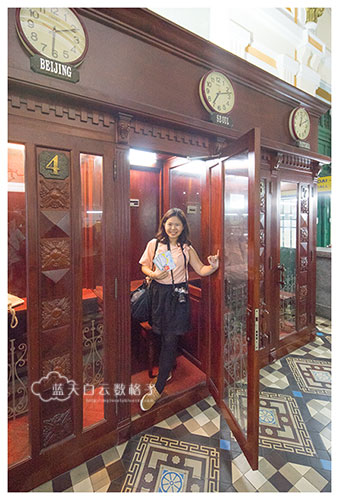 Ho Chi Minh City -  Saigon Central Post Office's Telephone Booth