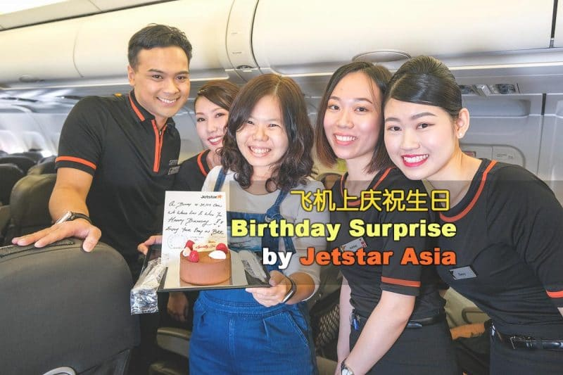Birthday Surprise by Jetstar Asia