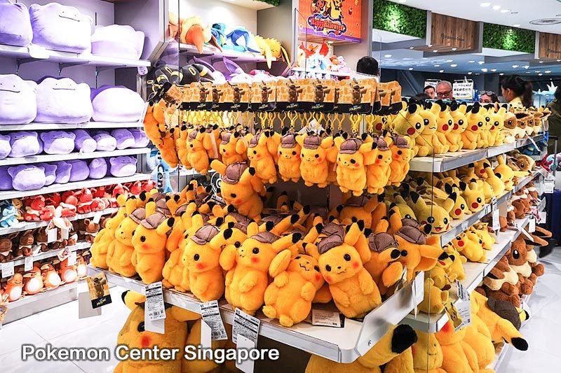 Pokemon center Singapore Pikachu