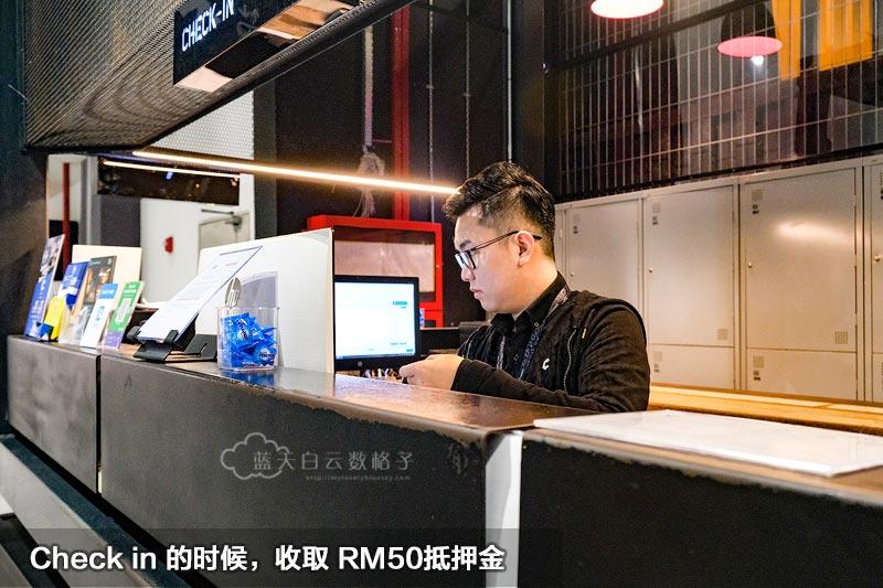 吉隆坡国际机场胶囊酒店抵押金