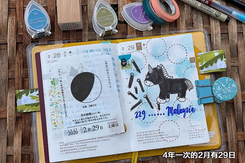 Koyomi Seikatsu Moon 日历