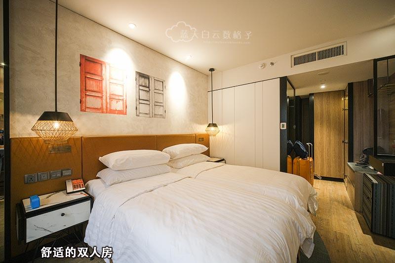 Hotel Jen Tangling双人房