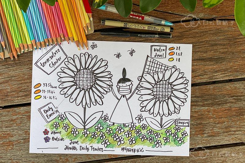 6月逛向日葵花圃