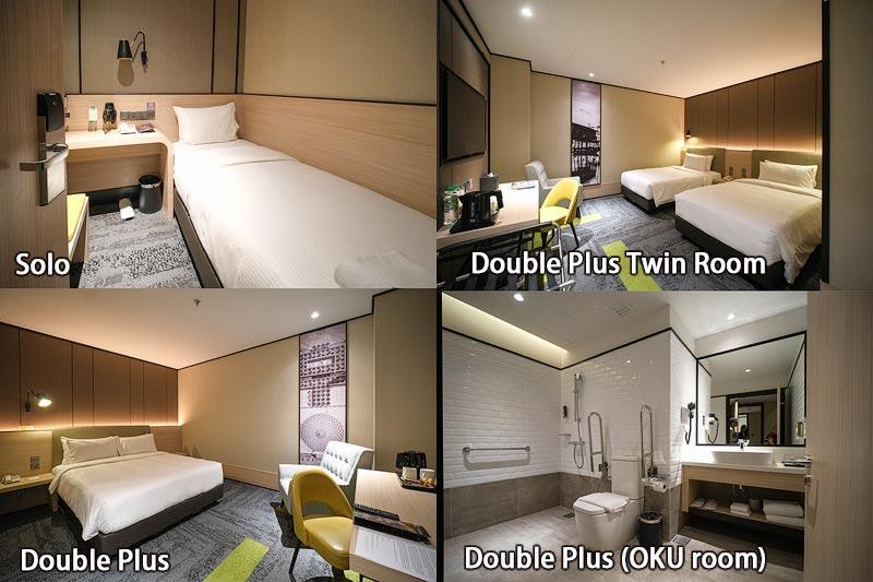 Aerotel Kuala Lumpur酒店房间选择