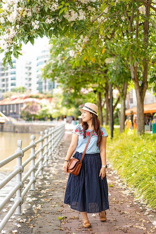 风铃木步行道